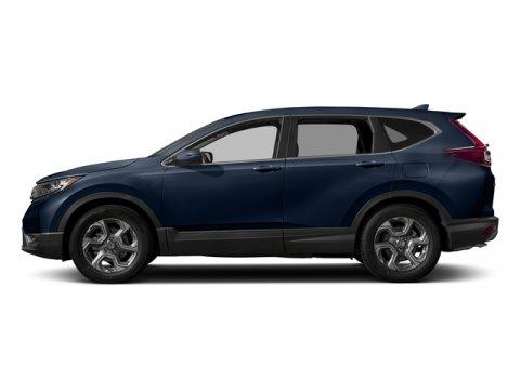 2017 Honda CR-V EX-L Obsidian Blue PearlGray V4 15 L Variable 0 miles  Turbocharged  Front W