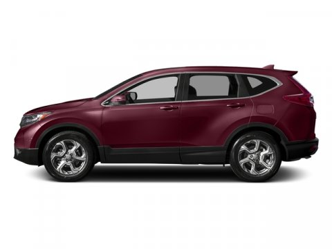 2017 Honda CR-V EX-L Basque Red Pearl IIGray Leather V4 15 L Variable 5 miles  Turbocharged