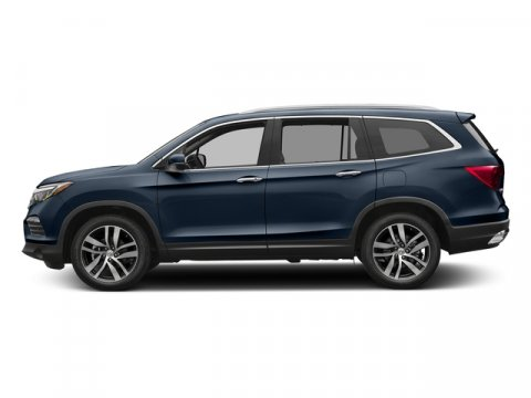 2017 Honda Pilot Touring Obsidian Blue PearlGRAY LEATHER-MED SEATS V6 35 L Automatic 11 miles