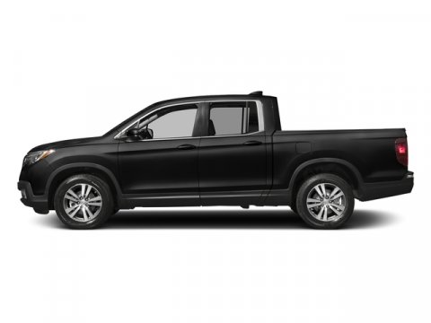 2017 Honda Ridgeline RTL Crystal Black PearlBlack Leather V6 35 L Automatic 11 miles  All Whe