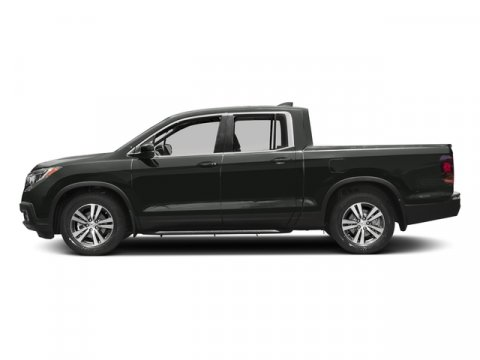 2017 Honda Ridgeline RTL Forest Mist MetallicGray Leather V6 35 L Automatic 13 miles  Front W