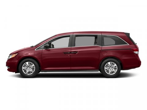 2017 Honda Odyssey LX Deep Scarlet PearlBeige V6 35 L Automatic 0 miles  Front Wheel Drive