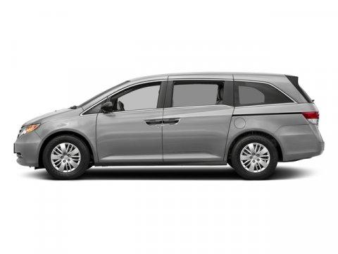 2017 Honda Odyssey LX Lunar Silver MetallicTruffle V6 35 L Automatic 0 miles  Front Wheel Dri