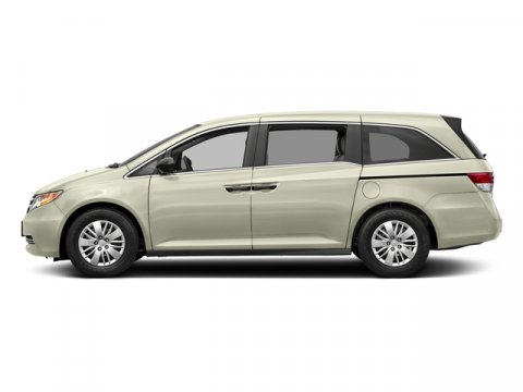 2017 Honda Odyssey LX White Diamond PearlBeige V6 35 L Automatic 0 miles  Front Wheel Drive