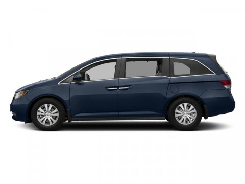 2017 Honda Odyssey EX-L Obsidian Blue PearlGray V6 35 L Automatic 0 miles  Front Wheel Drive