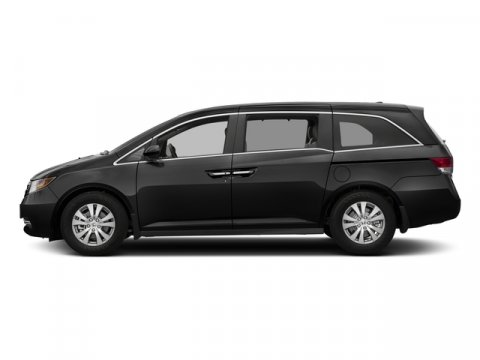 2017 Honda Odyssey EX-L Crystal Black PearlGray V6 35 L Automatic 0 miles  Front Wheel Drive
