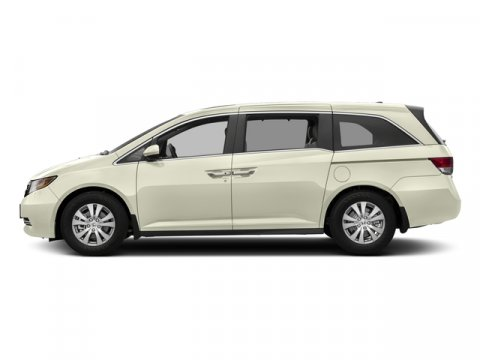 2017 Honda Odyssey EX-L White Diamond PearlBeige V6 35 L Automatic 16 miles  Front Wheel Driv