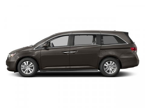 2017 Honda Odyssey EX-L with Rear Entertainment Sys Smoky Topaz MetallicTruffle V6 35 L Automat