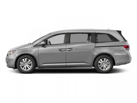 2017 Honda Odyssey EX-L Lunar Silver MetallicTruffle V6 35 L Automatic 0 miles  Front Wheel D
