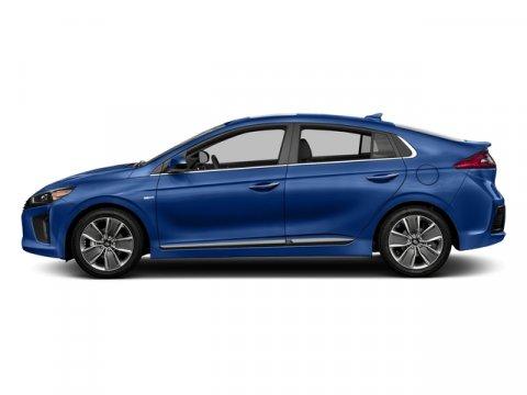 2017 Hyundai Ioniq Hybrid SEL Electric Blue MetallicCharcoal Black V4 16 L Automatic 0 miles