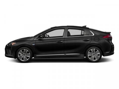 2017 Hyundai Ioniq Hybrid Blue Black Noir PearlCharcoal Black V4 16 L Automatic 12 miles  01