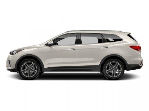 2017 Hyundai Santa Fe Limited Ultimate Monaco WhiteGray V6 33 L Automatic 0 miles  CARGO NET