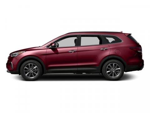 2017 Hyundai Santa Fe SE Regal Red PearlBeige V6 33 L Automatic 0 miles  BEIGE CLOTH SEATING