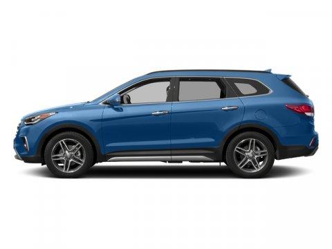 2017 Hyundai Santa Fe Limited Ultimate Storm BlueBlack V6 33 L Automatic 0 miles  BLACK LEATH