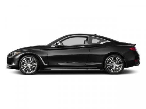2017 INFINITI Q60 Sport Black ObsidianZGRAPHITE V6 30 L Automatic 0 miles  M92 CARGO PACKA
