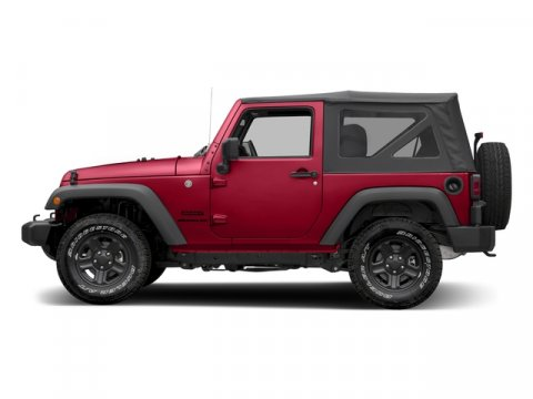 2017 Jeep Wrangler Firecracker Red Clearcoat V6 36 L  0 miles 4X4 MP3 Player  Four Wheel D