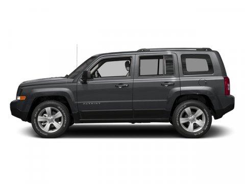 2017 Jeep Patriot Granite Crystal Metallic Clearcoat V4 24 L  0 miles BLUETOOTH MP3 Player