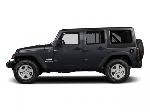 2017 Jeep Wrangler Unlimited Rhino Clearcoat V6 36 L  0 miles 4X4 MP3 Player  Four Wheel D