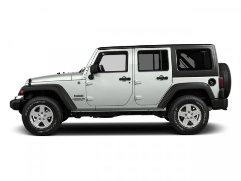 2017 Jeep Wrangler Unlimited Bright White Clearcoat V6 36 L  0 miles 4X4 MP3 Player  Four
