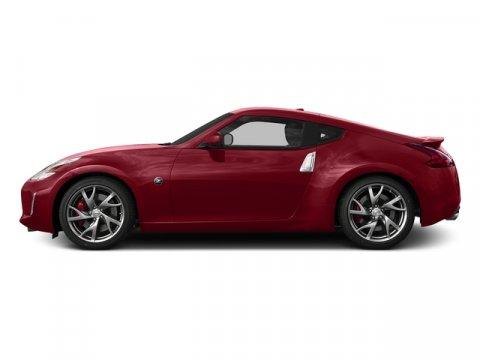 2017 Nissan 370Z Solid RedBlack V6 37 L Manual 0 miles  Rear Wheel Drive  Power Steering  A