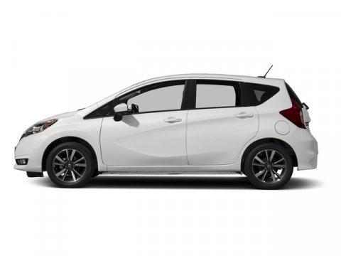 2017 Nissan Versa Note SR Aspen White PearlCharcoal V4 16 L Variable 0 miles  Front Wheel Dri