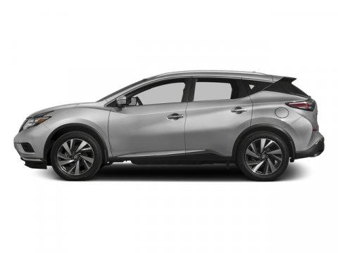 2017 Nissan Murano Platinum Brilliant Silver MetallicGraphite V6 35 L Variable 0 miles  Front