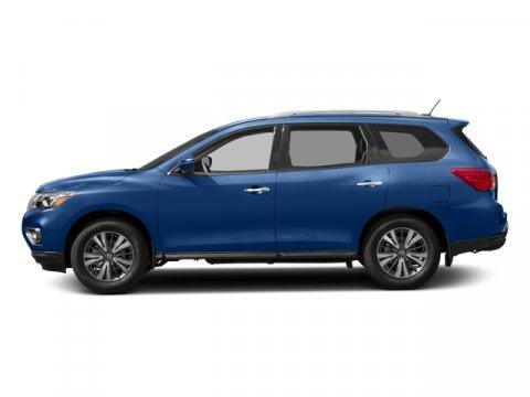 2017 Nissan Pathfinder SV Caspian BlueCharcoal V6 35 L Variable 0 miles  Front Wheel Drive