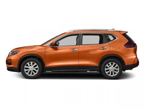 2017 Nissan Rogue S Monarch OrangeCharcoal V4 25 L Variable 0 miles  Front Wheel Drive  Powe