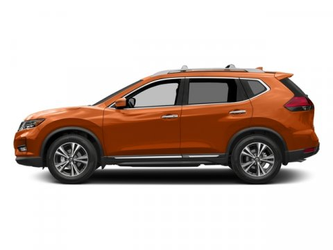 2017 Nissan Rogue SL Monarch OrangeAlmond V4 25 L Variable 0 miles  Front Wheel Drive  Power
