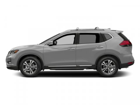2017 Nissan Rogue SL Brilliant SilverCharcoal V4 25 L Variable 10 miles  All Wheel Drive  Po