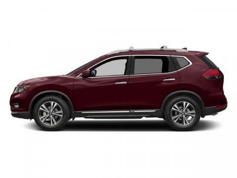 2017 Nissan Rogue SL Palatial RubyCharcoal V4 25 L Variable 0 miles  Front Wheel Drive  Powe