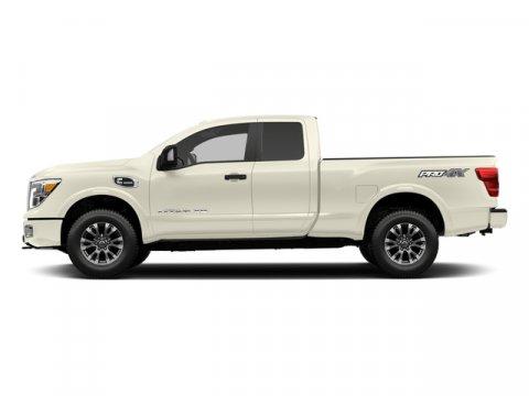 2017 Nissan Titan XD PRO-4X Pearl WhiteBlack V8 50 L Automatic 0 miles  Turbocharged  Four W