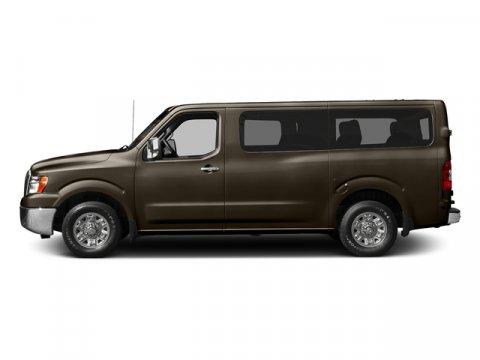 2017 Nissan NV Passenger S Java MetallicGray V6 40 L Automatic 0 miles  Rear Wheel Drive  Po
