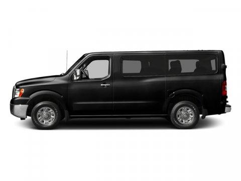 2017 Nissan NV Passenger S Super BlackGray V6 40 L Automatic 0 miles  Rear Wheel Drive  Powe