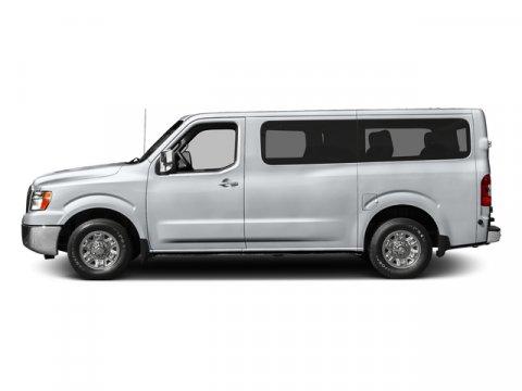 2017 Nissan NV Passenger SV Glacier WhiteGray V6 40 L Automatic 0 miles  Rear Wheel Drive  P