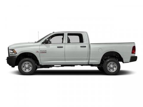 2017 Dodge 2500 Tradesman Bright White Clearcoat V6 67 L Automatic 0 miles DIESEL 4X4 MP3 P