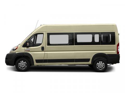 2017 Ram ProMaster Window Van High Roof Sandstone PearlcoatGray V6 36 L Automatic 328 miles 2