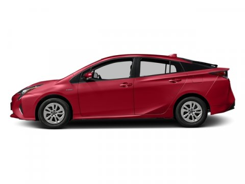 2017 Toyota Prius One Hypersonic RedBlack V4 18 L Variable 0 miles Boasts 50 Highway MPG and