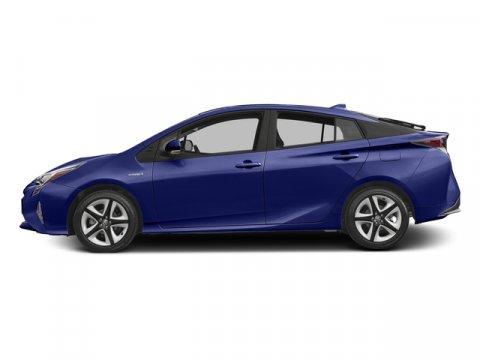 2017 Toyota Prius Three Touring Blue Crush MetallicBlack V4 18 L Variable 0 miles Boasts 50 H
