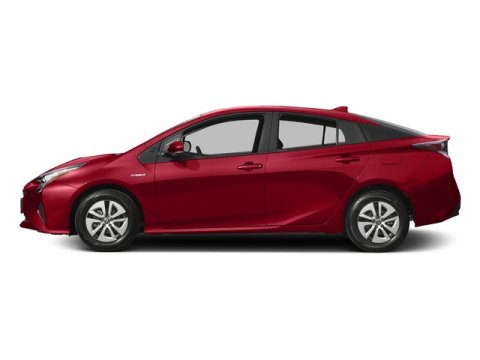 2017 Toyota Prius Two Eco Hypersonic RedBlack V4 18 L Variable 12 miles  ALL-WEATHER FLOOR LI