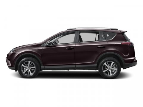 2017 Toyota RAV4 XLE Black Currant MetallicBlack V4 25 L Automatic 1 miles  ALL WEATHER LINER