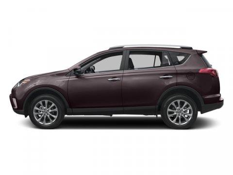 2017 Toyota RAV4 Limited Black Currant MetallicBlack V4 25 L Automatic 8 miles  ALL WEATHER L