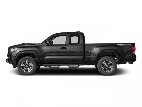 2017 Toyota Tacoma TRD Sport Access Cab 6 Bed V6 4 BlackGraphite wGun Metal V6 35 L Manual 0