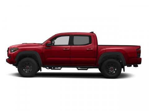 2017 Toyota Tacoma TRD Pro Barcelona Red MetallicBlack V6 35 L Automatic 2 miles  ALL WEATHER