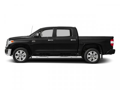 2017 Toyota Tundra 1794 Edition CrewMax 55 Bed 5 Midnight Black MetallicBlackBrown V8 57 L
