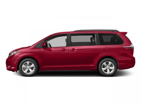 2017 Toyota Sienna LE Salsa Red PearlBisque V6 35 L Automatic 5 miles FREE Annual inspection