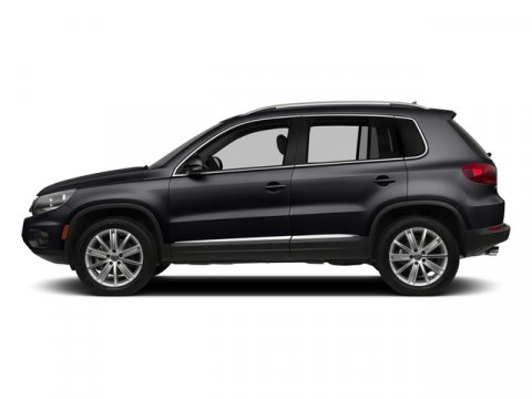 2017 Volkswagen Tiguan Sport Deep Black PearlDL V4 20 L Automatic 8 miles The Tiguan is every