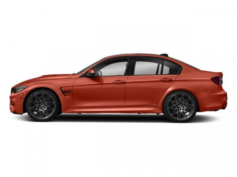 2018 BMW M3 Sakhir Orange II MetallicBlack V6 30 L Automatic 7 miles Recent Arrival 2018 BMW