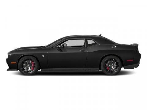 2018 Dodge Challenger SRT Hellcat Pitch Black ClearcoatBlack V8 62 L Automatic 0 miles  RED S