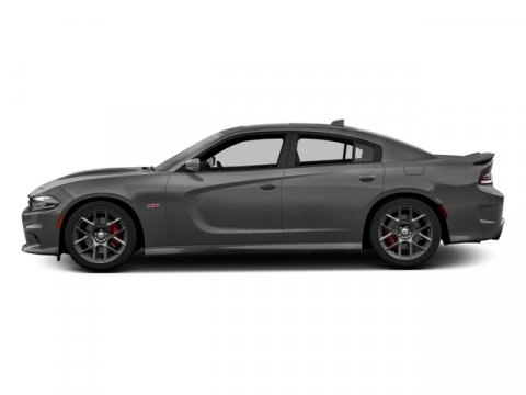 2018 Dodge Charger RT Scat Pack Destroyer Gray ClearcoatRuby RedBlack V8 64 L Automatic 2 mi